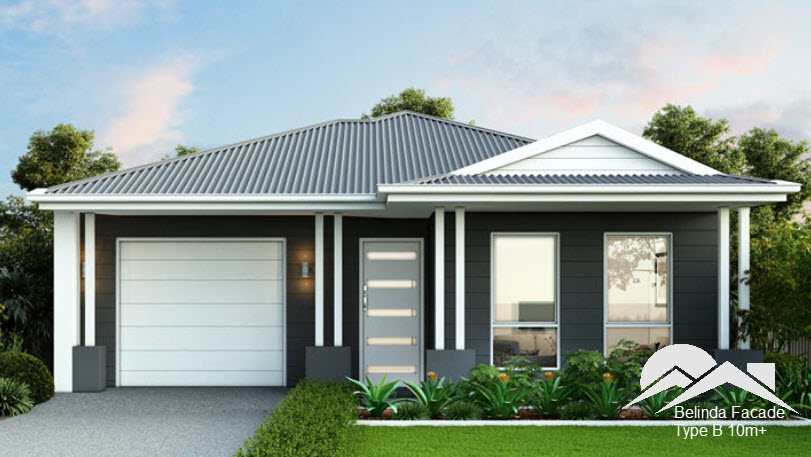 Belinda Facade - Suitable for 10m+ Frontage blocks