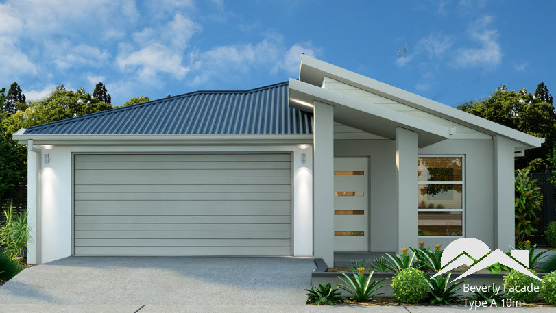Beverly Facade - Suitable for 10m+ Frontage blocks